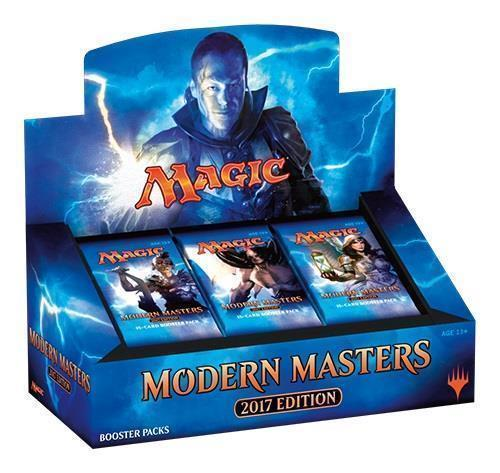 MTG Magic Modern Masters 2017 Sealed English Booster Case 4 Boxes