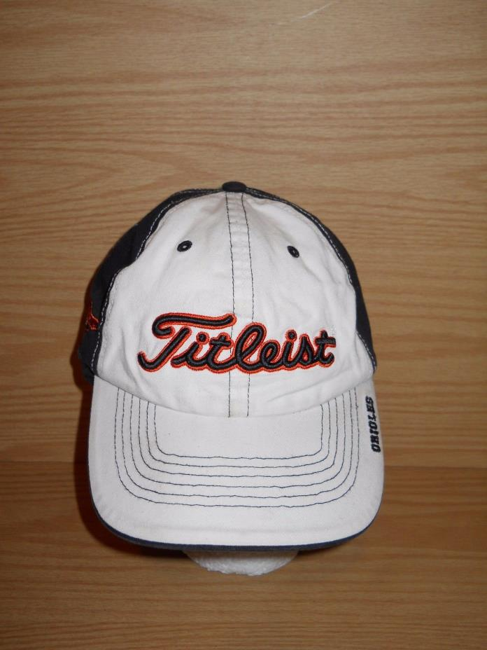 Titleist Forty Seven 47 Brand Orioles Baltimore Orioles Adjustable Baseball Hat