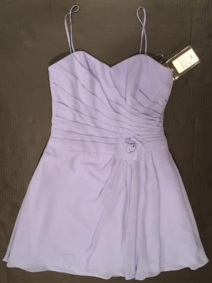 Andrew Adela Periwinkle Purple 10 Formal Wedding Bridesmaid Prom Dance Dress