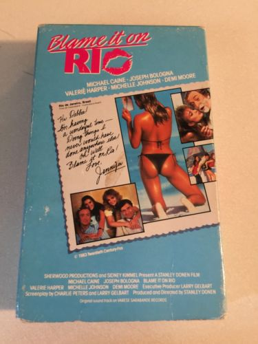 Blame It On Rio-Beta Tape-1983-Michael Caine-Demi Moore