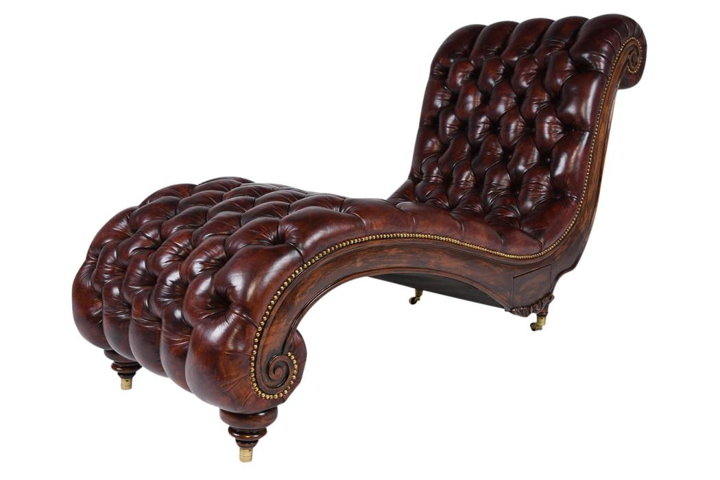 Vintage chaise lounge for sale classifieds for Carved wooden chaise
