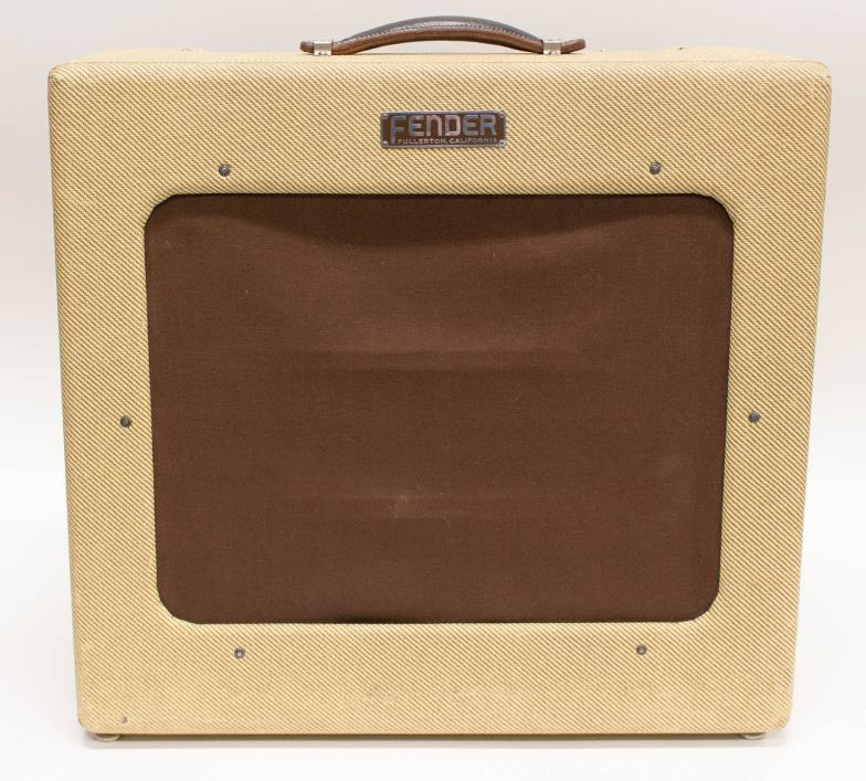1949 Vintage Fender Tweed TV Front Fender 1x15 Guitar Combo Amp Amplifier
