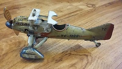 Rare TippCo D-Olaf Military Bomber Airplane from 1930s body and spares.