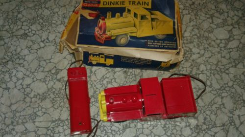 andy gard dinky electric toy train  -works!