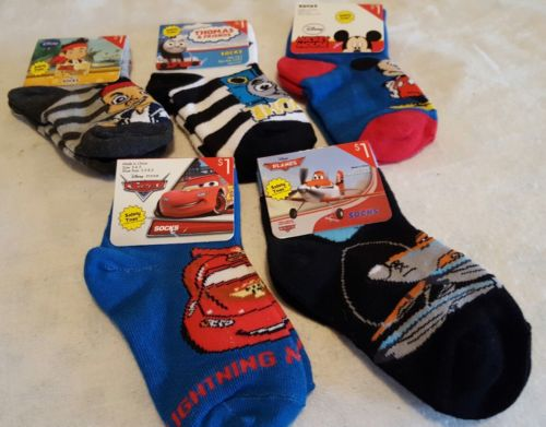 5 pair toddler boy socks for shoe size 5-8.5