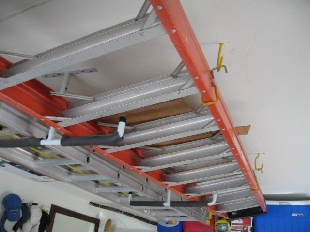 10 Foot Sunset Fiberglass & Aluminum Ladder