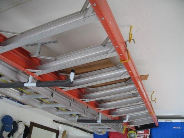 10 Foot Sunset Fiberglass & Aluminum Ladder