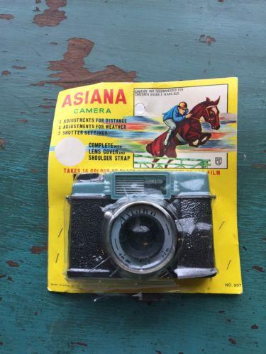 Vintage ASIANA Toy camera 120 Film
