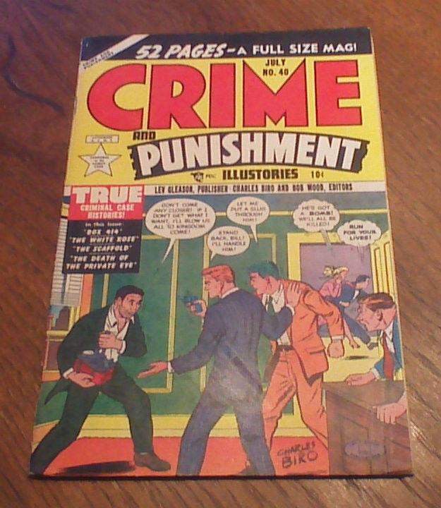 CRIME AND PUNISHMENT #40