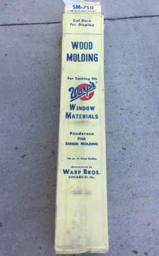 Warp Brothers SM750 Pine Wood Molding Strips, 3 ft. 750 Lin Ft. 221WTK.P4