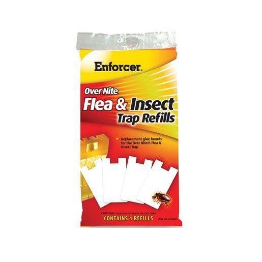 Zep Overnite, Flea Trap Refill, Contains 4 Refill Glue Boards ONFTR