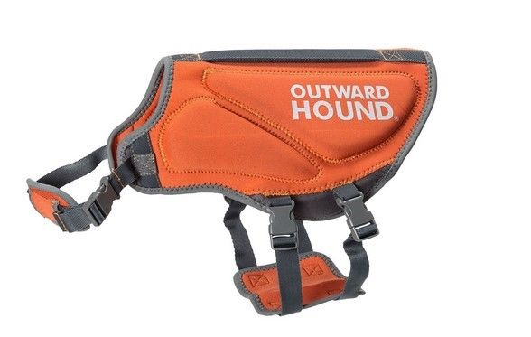 Outward Hound H2GO Dog Neoprene Life Jacket Safety Vest - Orange L Large *NWT