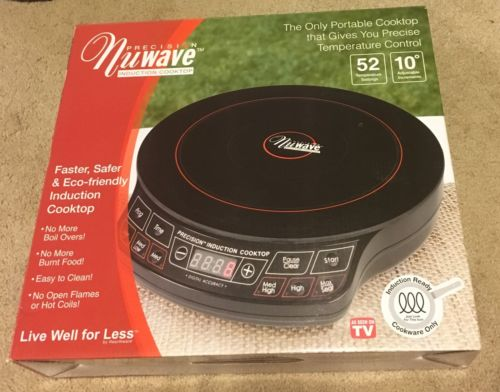 Precision Nuwave Induction Cooktop NEW!