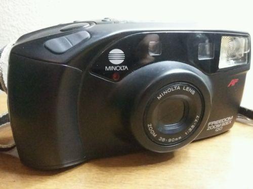 Minolta Freedom Zoom 90EX Quartz Date 35mm Camera
