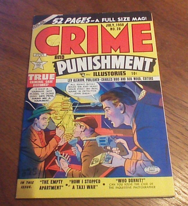 Crime and Punishment #28 (Jul 1950, Lev Gleason)