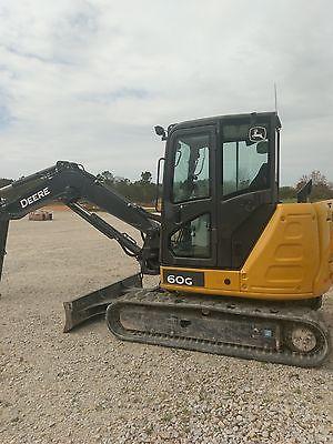 2015 John Deere 60G Excavator, 900 hours
