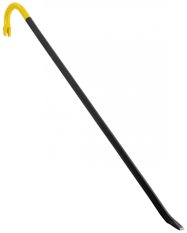 Stanley 55-136 36-Inch Forged Hexagonal Steel Ripping Bar (Yellow)