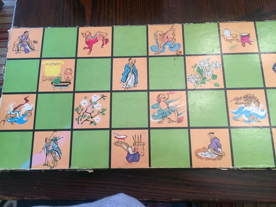 Vintage TAG Collector's Mandarin Chess Set