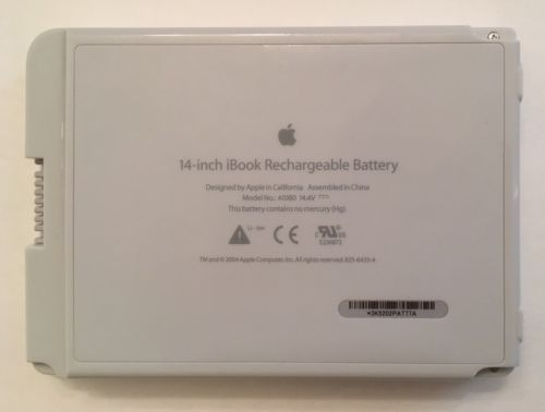 Apple IBook 14 inch A1080 Rechargeable battery