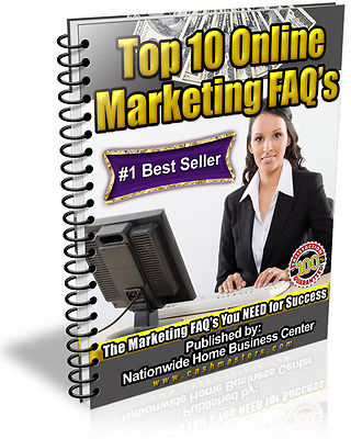 TOP 10 ONLINE MARKETING FAQ'S PDF EBOOK RESALE RIGHTS