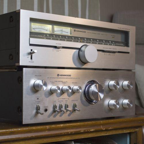 Kenwood KT-615 AM/FM Tuner w/ LED upgrade