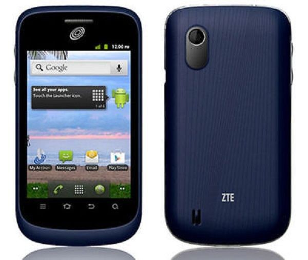 Straight Talk ZTE Midnight 4GB Android Smart Phone
