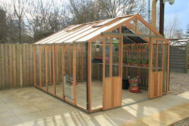 Custom Greenhouses made with Cedar & Glass! Respected Business!
