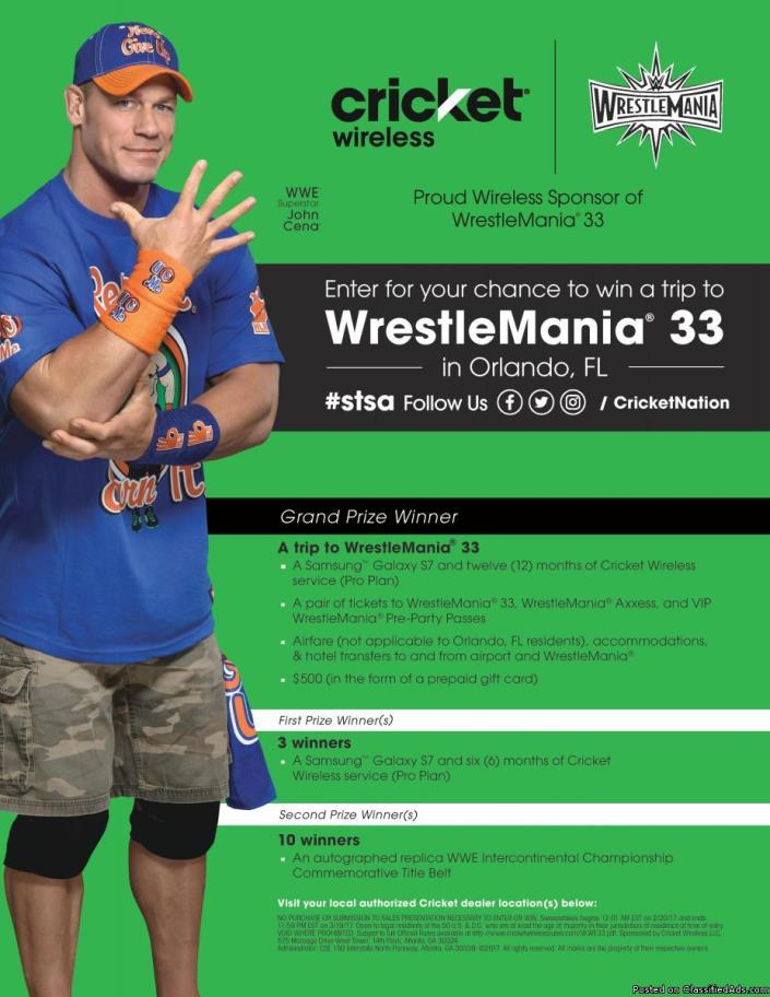 Wrestle Mania 33!