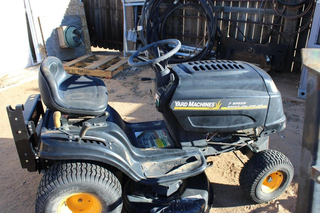 Mtd Yardman Tractors : Lawn tractor mtd for sale classifieds
