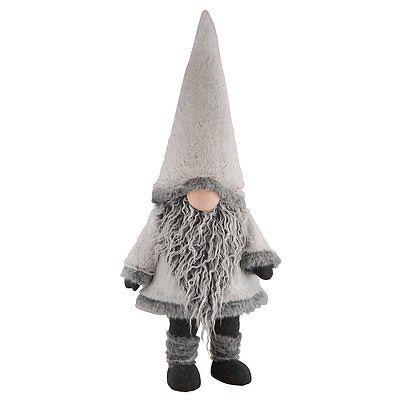 New Winter Gnome Bobbing Fabric Figure 33 Inches