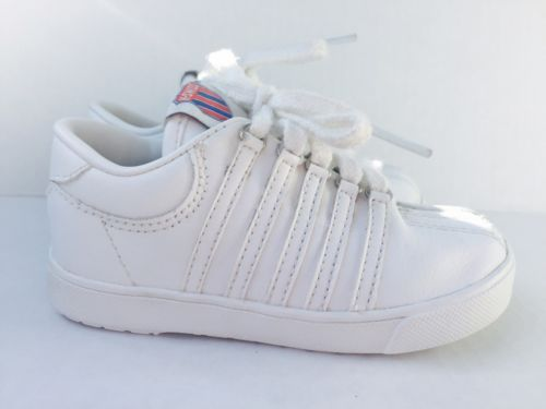 K-Swiss Size 6 (infants/toddler) All White Sneakers