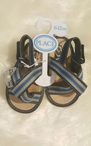The Childrens Place Size 6-12 m Toddler Boys Flip Flops Sandals