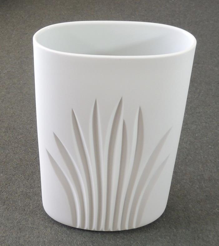 Rosenthal Germany Studio Line Matte White Vase Signed Riedel EUC