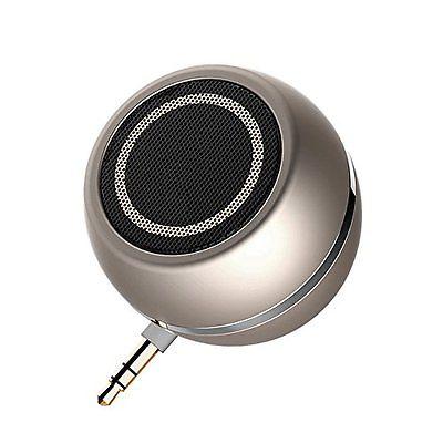 LC-dolida Portable Mini Speakers 3.5mm Aux Audio Jack Plug in Line-in Speaker w