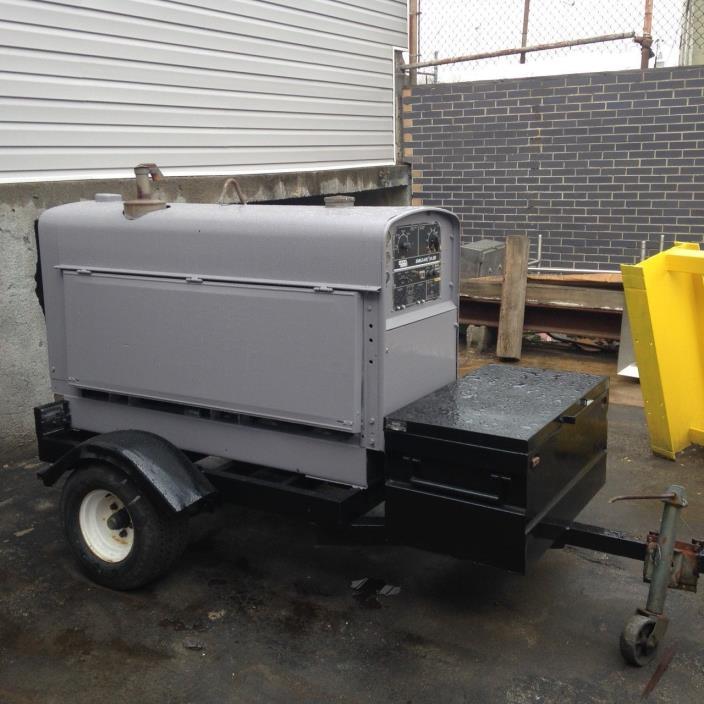 lincoln sa 250 diesel DC arc weld machine