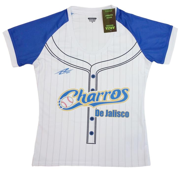 Women's Charros de Jalisco Jersey Slim Fit