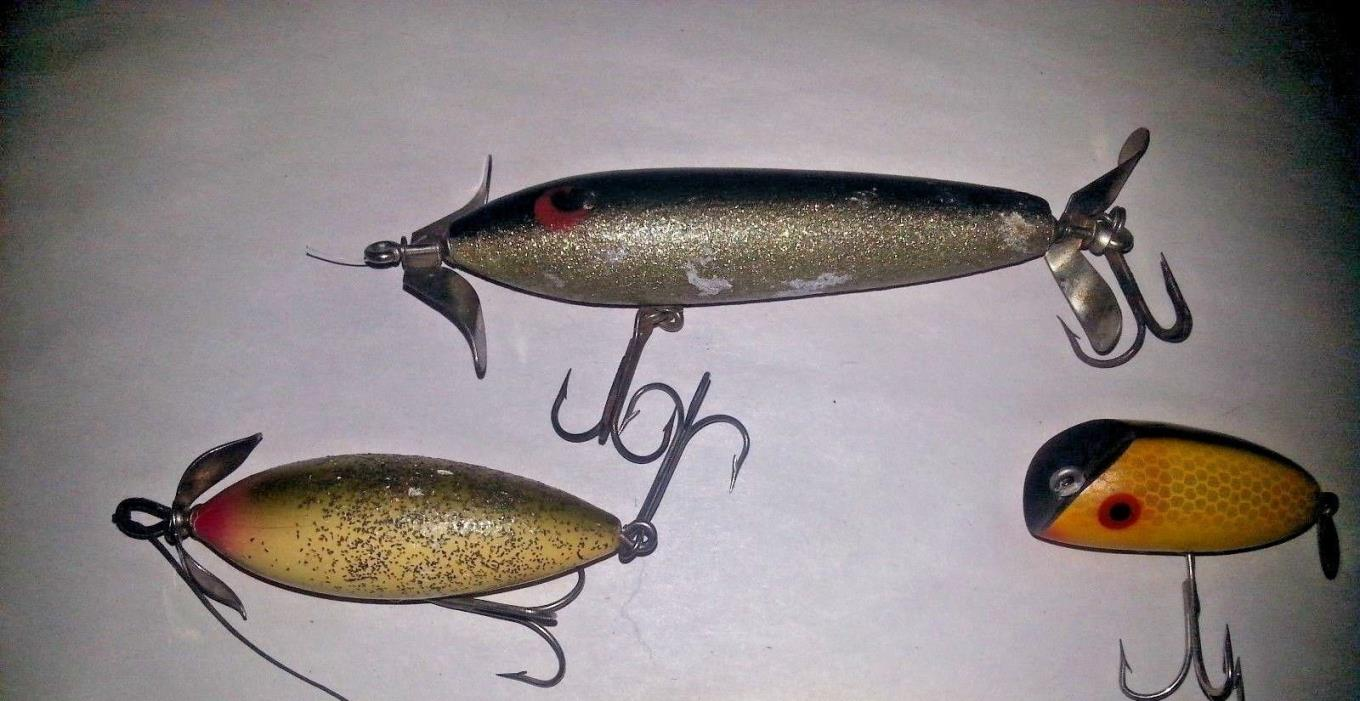 Heddon punkinseed fishing lures for sale classifieds for Vintage fishing lures for sale