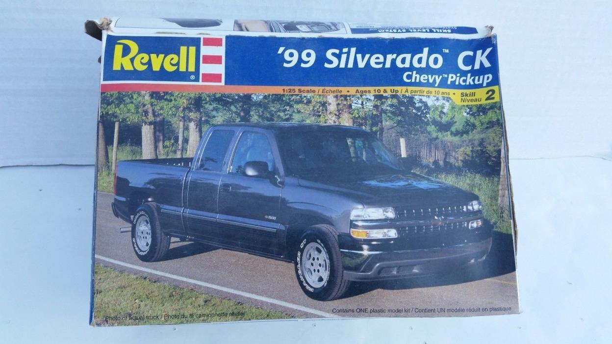 Revell 1999 Silverado CK Chevy Pickup #85-7646 1:25 Scale
