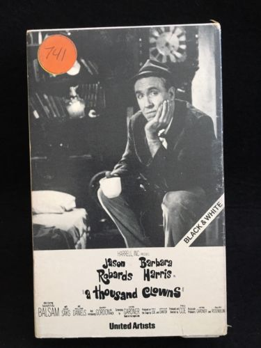 RARE! A Thousand Clowns Betamax BETA Jason Robards 1966 OOP HTF