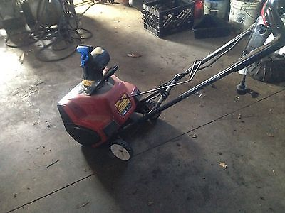 Toro Power Curve 1800 Electric Snowblower Snow Blower Used Working
