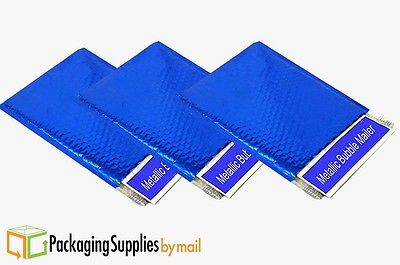 Metallic Bubble Mailers Shipping Envelope Bags 13.75