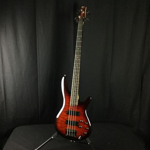 Ibanez SR400QM Active Bass Guitar (Used)