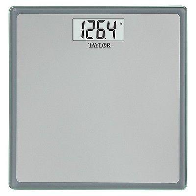 Taylor Glass Digital Bath Scale Bathroom Balance Body Weight Loss Precision Fat