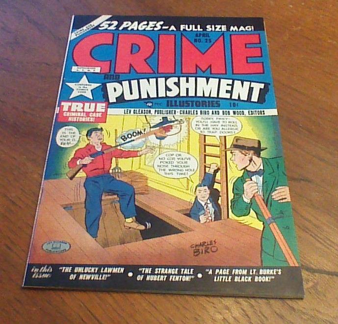 Crime and Punishment #25 (Apr 1950, Lev Gleason)