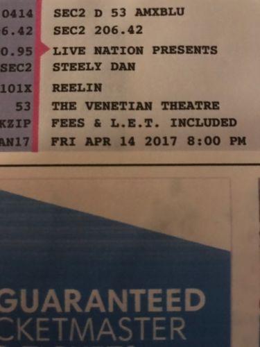 2 Steely Dan Tickets