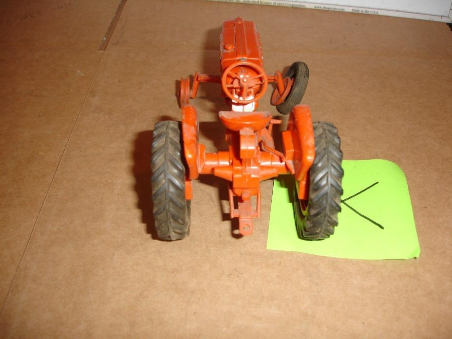 1/ plastic allis chalmers toy tractor