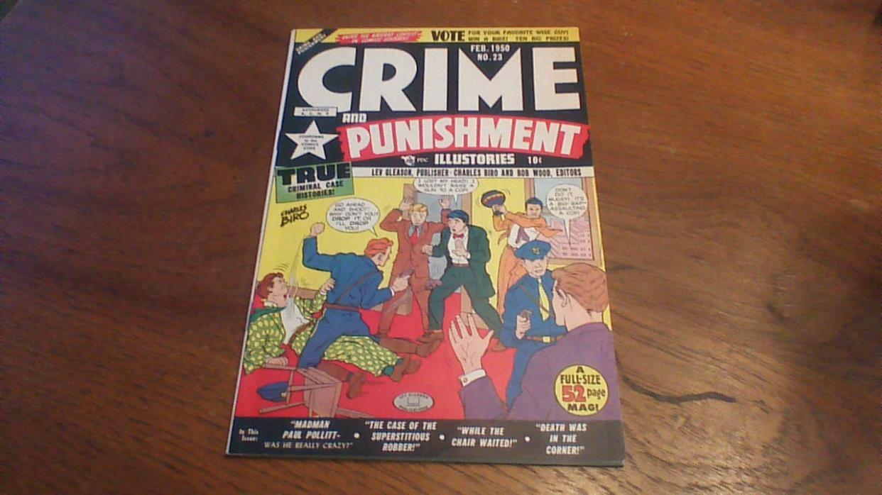 Crime and Punishment #23 (Feb 1950, Lev Gleason)
