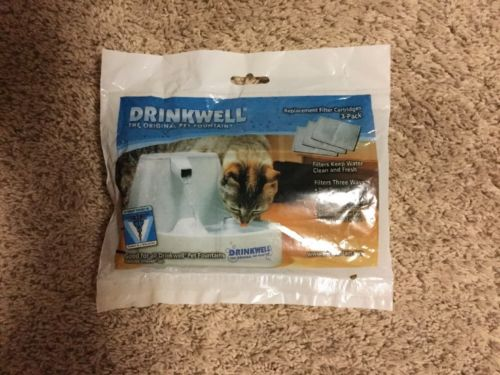 Drink well Replacement Filter Cartridges 3 Pack