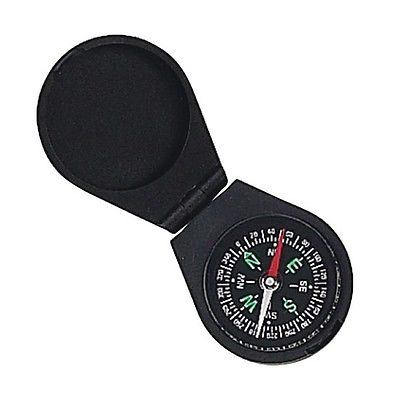 Mustang 15627 Directional Liquid Filled Compass w/Black Case