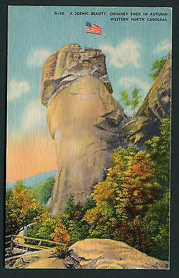 Chimney Rock in Autumn - Western North Carolina